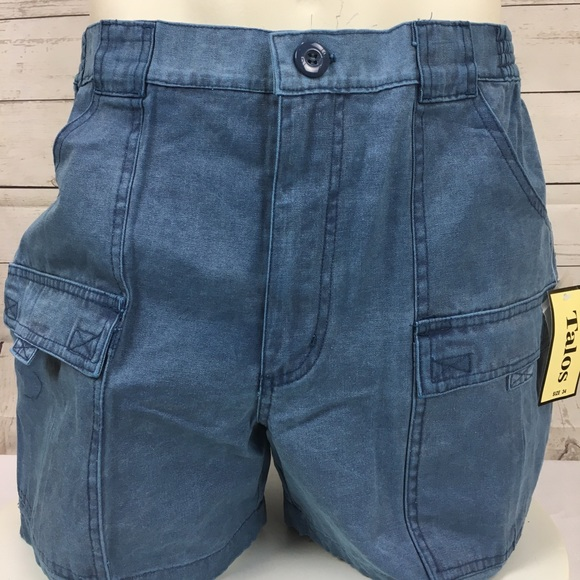 f918965cd9 Talos Shorts | Nwt Outdoors Mens Cargo Hiking Blue | Poshmark